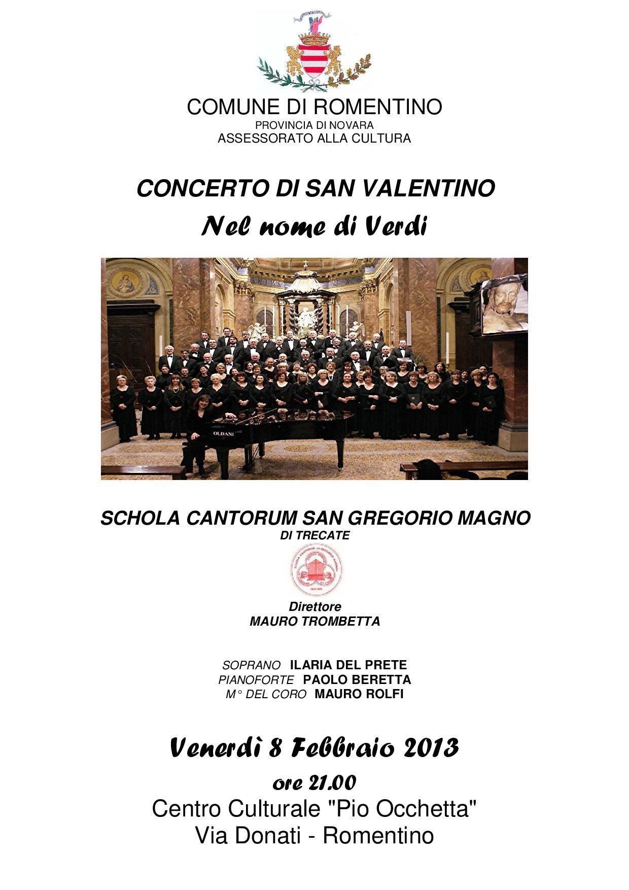 Concerto San Valentino