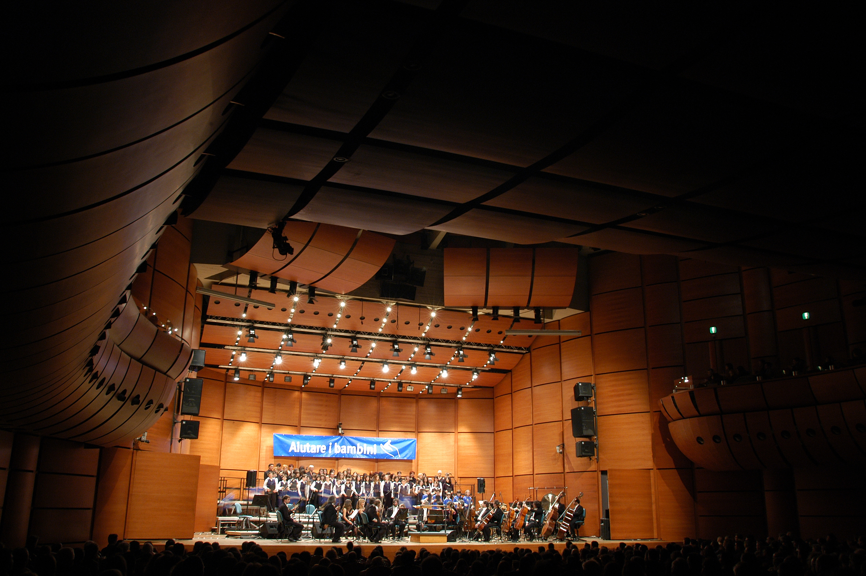 Auditorium nuovo largo Mahler Milano