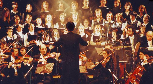 Paolo Beretta e il Coro Voci Bianche di Novara