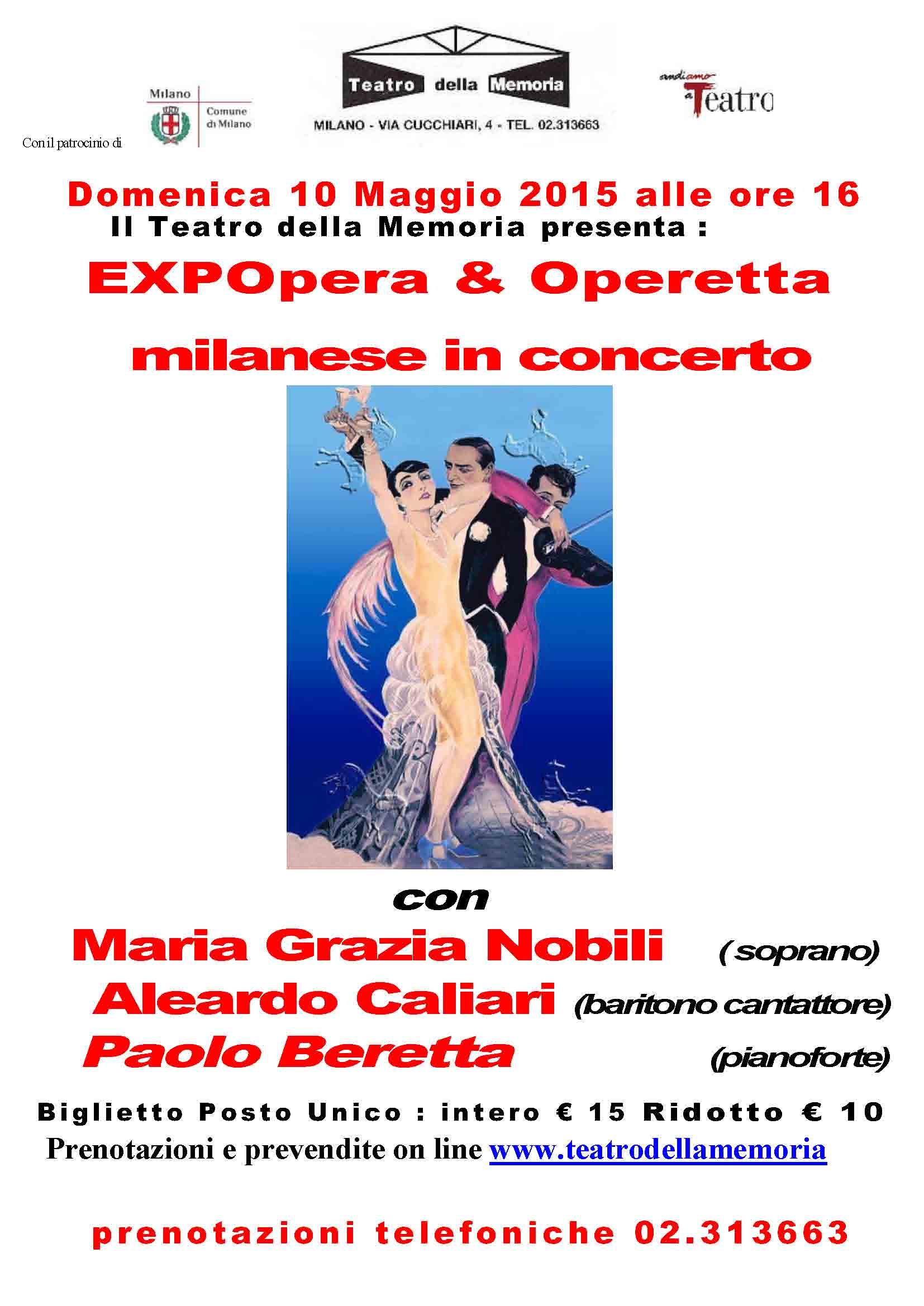 Locandina   EXPOpera & Operetta in concerto 2015